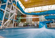 Indoor waterslide